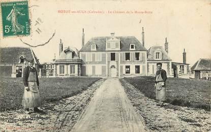 """CPA FRANCE 14 """"Hotot en Auge, Le Chateau de la Haute Butte"""""""