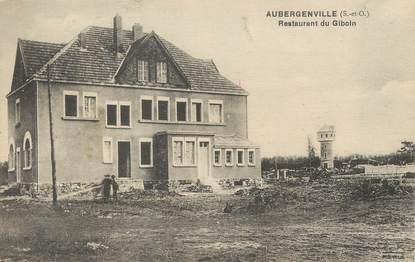"""/ CPA FRANCE 78 """"Aubergenville, restaurant du Giboin"""""""