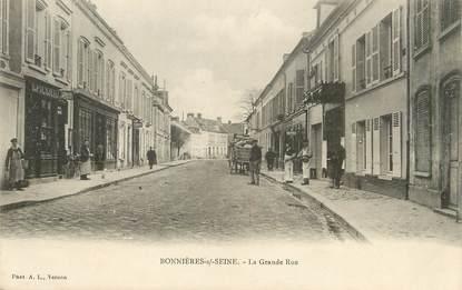 """/ CPA FRANCE 78 """"Bonnières sur Seine, la grande rue"""""""