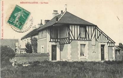 """CPA FRANCE 14 """"Hérouvillette, La Poste"""""""