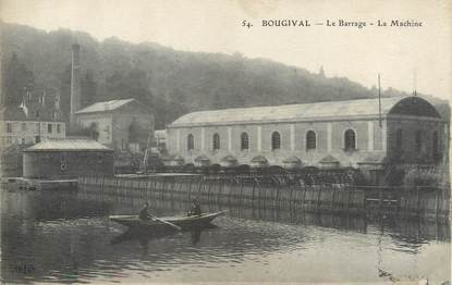 "/ CPA FRANCE 78 ""Bougival, le barrage, la machine"""