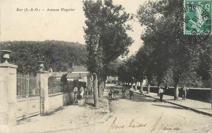 "/ CPA FRANCE 78 ""Buc, avenue Huguier"""