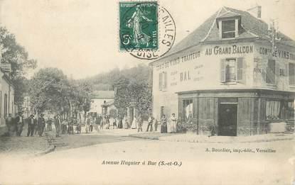 "/ CPA FRANCE 78 ""Buc, avenue Huguier """