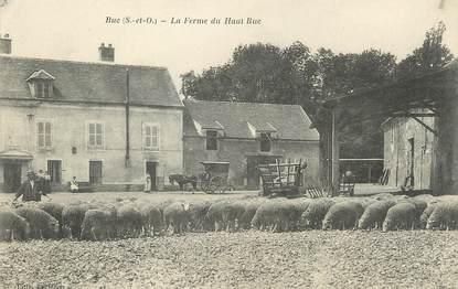 """/ CPA FRANCE 78 """"Buc, la ferme du Haut Buc"""""""