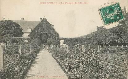 """/ CPA FRANCE 78 """"Bazainville, le potager du château"""""""