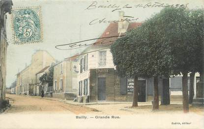 """/ CPA FRANCE 78 """"Bailly, grande rue"""""""