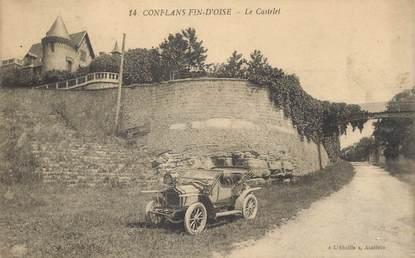 """/ CPA FRANCE 78 """"Conflans Fin d'Oise, le Castelet"""""""