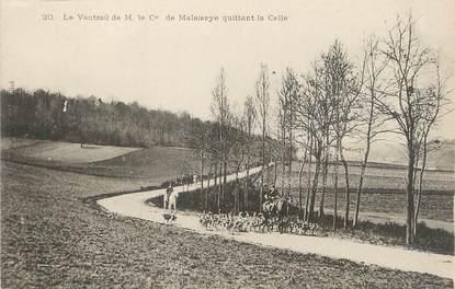 """/ CPA FRANCE 78 """"La Celle Les Bordes, la vautrail de M. Cte de Maleissye"""""""