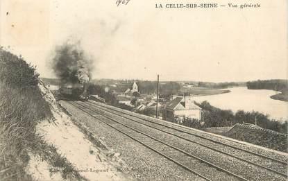 """/ CPA FRANCE 78 """"La Celle sur Seine, vue générale"""""""