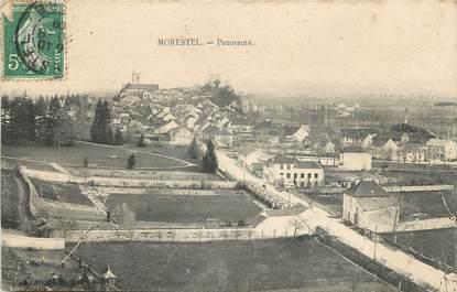 "CPA FRANCE 38 ""Morestel, panorama de la ville"""