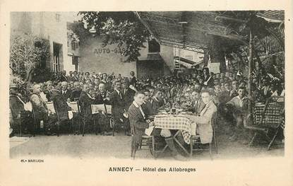"""CPA FRANCE 74 """"Annecy, Hotel des Allobroges"""""""