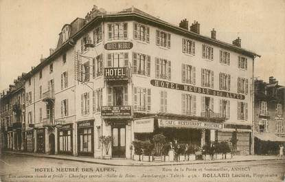 """CPA FRANCE 74 """"Annecy, Hotel des Alpes"""""""