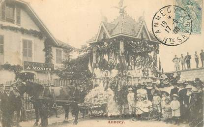 "CPA FRANCE 74 ""Annecy, Cavalcade u 3 juin 1906"""