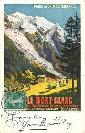 "CPA FRANCE  74 ""Chamonix Mont Blanc"""