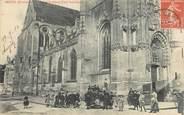 """28 Eure Et Loir CPA FRANCE 28 """"Dreux, l'Eglise Saint Pierre"""""""