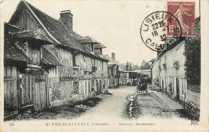 """CPA FRANCE 14 """"Hermival les Vaux, maisons normandes"""""""