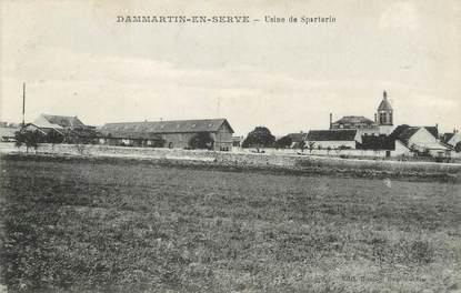 "/ CPA FRANCE 78 ""Dammartin en Serve, usine de Sparterie"""