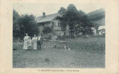 "CPA FRANCE 74 ""Mieussy, Villa Braise"""