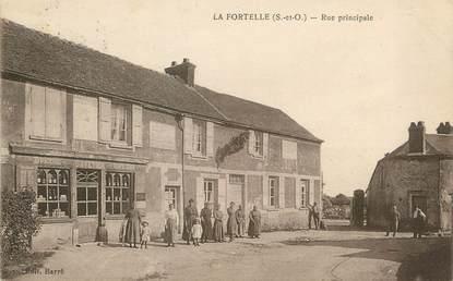 """/ CPA FRANCE 78 """"La Fortelle, rue principale"""""""