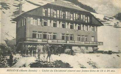 Cpa france 74 meg ve le chalet du christomet 74 haute - Office du tourisme megeve haute savoie ...