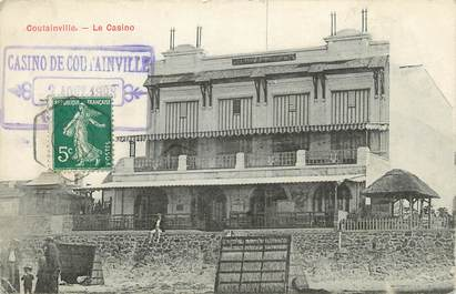 "CPA FRANCE 50 ""Coutainville, le casino"""