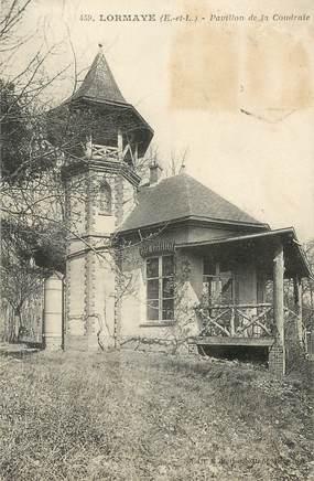 """CPA FRANCE 28 """"Lormaye, pavillon de la Coudraie"""""""
