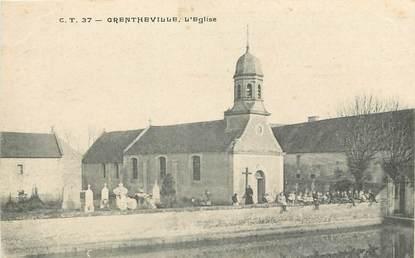 "CPA FRANCE 14 ""Grentheville, l'Eglise"""