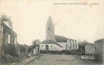 """/ CPA FRANCE 78 """"Saint Rémy l'Honoré, l'église"""""""