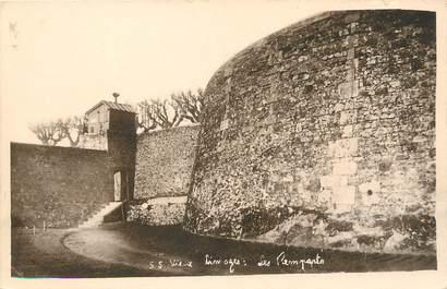 """/ CPA FRANCE 87 """"Vieux Limoges, les remparts"""""""