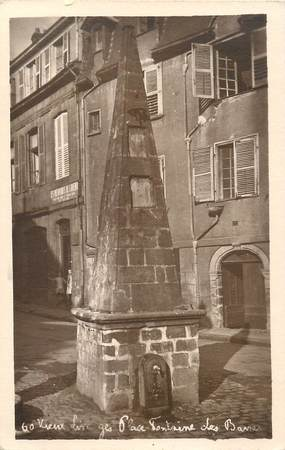 """/ CPA FRANCE 87 """"Vieux Limoges, place Fontaine des Barres"""""""