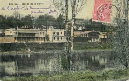 """/ CPA FRANCE 78 """"Chatou, bords de la Seine"""""""