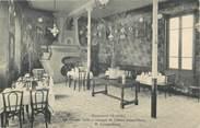 """78 Yveline / CPA FRANCE 78 """"Dampierre, la grande Salle à manger de l'hôtel Saint Pierre"""""""