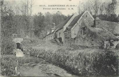 "/ CPA FRANCE 78 ""Dampierre, ferme des Roches"""