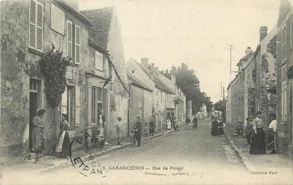 "/ CPA FRANCE 78  ""Garancières, rue de Poissy """