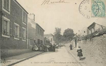 """/ CPA FRANCE 78 """"Jouy en Josas, rue Adançon et la maison Rose"""""""