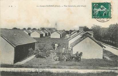"""CPA FRANCE 18 """"Camp d'Avord"""""""