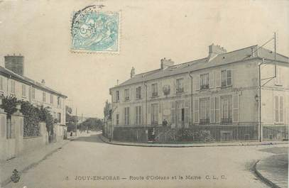 """/ CPA FRANCE 78 """"Jouy en Josas, route d'Orléans et la Mairie"""""""