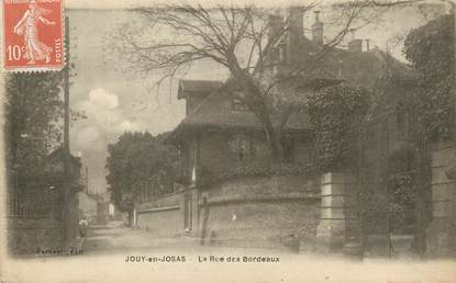 """/ CPA FRANCE 78 """"Jouy en Josas, la rue des Bordeaux """""""