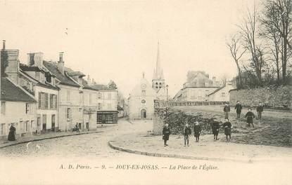 """/ CPA FRANCE 78 """"Jouy en Josas, la place de l'église"""""""