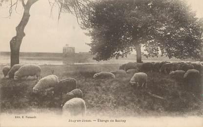 "/ CPA FRANCE 78 ""Jouy en Josas, étangs de Saclay"""