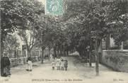 """78 Yveline / CPA FRANCE 78 """"Houilles, la rue Schoelcher"""""""