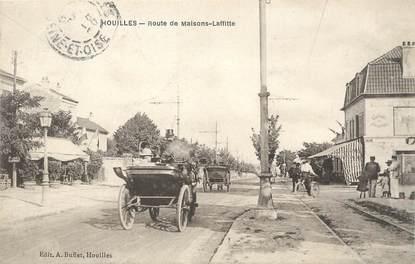 """/ CPA FRANCE 78 """"Houilles, route de Maisons Laffitte"""""""