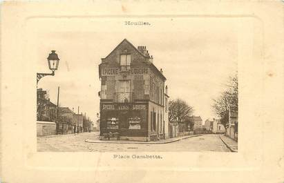 """/ CPA FRANCE 78 """"Houilles, place Gambetta"""" / EPICERIE"""