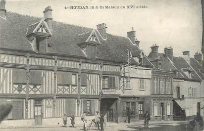 "/ CPA FRANCE 78 ""Houdan, maison du XVIè siècle"""