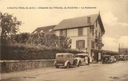 """/ CPA FRANCE 78 """"L'Hautil Triel, closerie des tilleuls, le restaurant"""""""