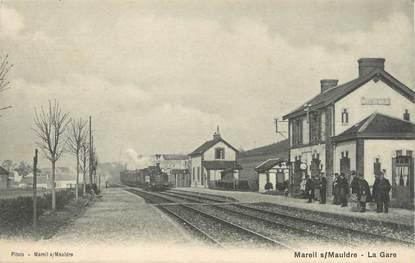 """/ CPA FRANCE 78 """"Mareil sur Mauldre, la gare """""""