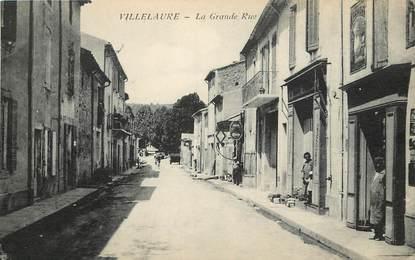 "CPA FRANCE 84 ""Villelaure, la grande rue"""