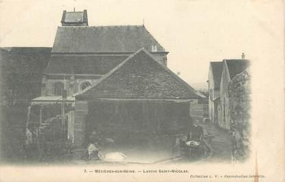 """/ CPA FRANCE 78 """"Mezières sur Seine, lavoir Saint Nicolas"""""""