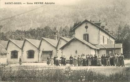 "CPA FRANCE 38 ""Saint Bueil, Usine Veyre Adolphe"""