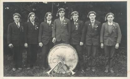 """CARTE PHOTO FRANCE   38 """"Saint Hilaire de la Cote, 1933"""
